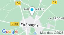 Plan Carte Piscine à Etrepagny