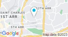 Plan Carte Piscine Louis Armand à Marseille