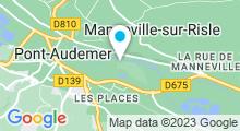 Plan Carte Piscine Les 3 Ilets à Pont Audemer