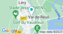 Plan Carte Piscine à Val de Reuil