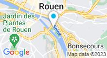 Plan Carte Piscine Guy Boissière à Rouen