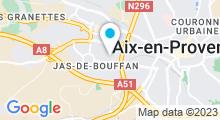 Plan Carte Piscine Plein Ciel à Aix en Provence