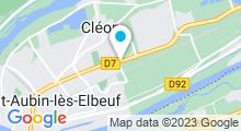 Plan Carte Piscine à Cleon