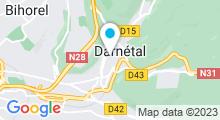 Plan Carte Piscine de Darnetal