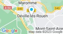Plan Carte Piscine à Deville les Rouen
