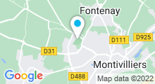 Plan Carte Complexe aquatique Belle Etoile - Piscine à Montivilliers
