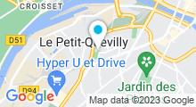 Plan Carte Piscine à Le Petit Quevilly