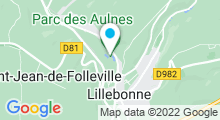 Plan Carte Centre aquatique de la Presqu'Ile - Piscine à Lillebonne