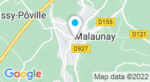 Plan Carte Piscine de Malaunay