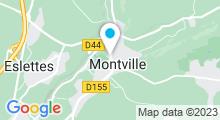 Plan Carte Piscine André Martin à Montville