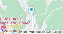 Plan Carte Piscine à Notre Dame de Bondeville