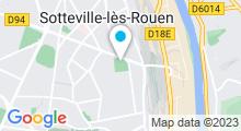 Plan Carte Piscine à Sotteville Les Rouen