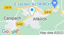 Plan Carte Piscine d'Altkirch