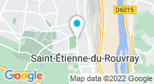 Plan Carte Piscine Marcel Porzou Saint Etienne du Rouvray