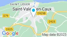Plan Carte Piscine à St Valery en Caux