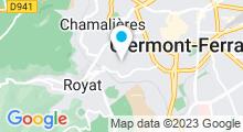 Plan Carte Centre aquatique - Piscine à Chamalières