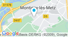 Plan Carte Centre Nautique - Piscine de Montigny Les Metz