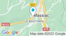 Plan Carte Piscine de Massiac