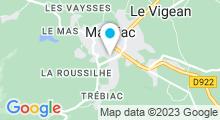 Plan Carte Centre Aqua récréatif - Piscine à Mauriac