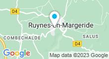 Plan Carte Piscine de Ruynes en Margeride