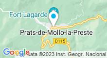 Plan Carte Piscine à Prats-de-Mollo-la-Preste
