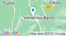 Plan Carte Espace Aquatique - Piscine à Vernet les Bains