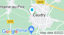 Plan Carte Complexe Aquatique Duo Caudry