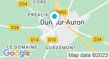 Plan Carte Piscine à Dun sur Auron