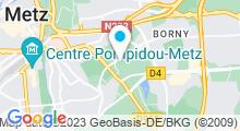 Plan Carte Piscine de Belletanche à Metz