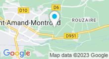 Plan Carte Piscine Balnéor à St Amand Montrond