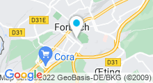 Plan Carte Piscine Olympique de Forbach