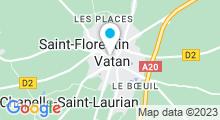 Plan Carte Piscine à Vatan