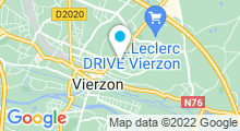 Plan Carte Piscine Charles Moreira à Vierzon