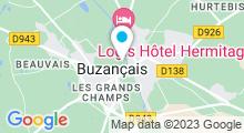 Plan Carte Piscine à Buzancais