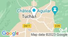 Plan Carte Piscine à Tuchan