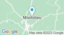 Plan Carte Piscine à Montolieu