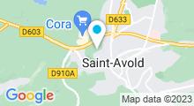 Plan Carte Stade Nautique - Piscine de Saint-Avold
