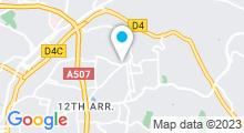 Plan Carte Piscine Beaumont Bombardière à Marseille