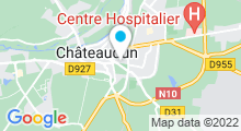 Plan Carte Piscine de Chateaudun