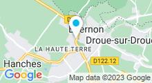 Plan Carte Piscine d'Epernon
