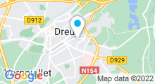 Plan Carte Piscine de Vernouillet