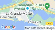 Plan Carte Piscine Grand Bleu à La Grande Motte