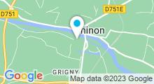 Plan Carte Piscine de Chinon