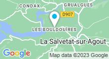 Plan Carte Piscine à La Salvetat sur Agout