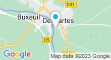 Plan Carte Piscine de Descartes