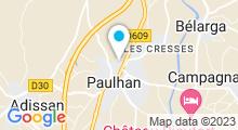 Plan Carte Piscine à Paulhan