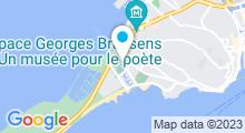 Plan Carte Centre Balnéaire Fonquerne - Piscine à Sete