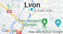 Plan Carte Centre nautique Tony Bertrand (ex piscine du Rhône) à Lyon