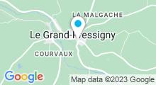 Plan Carte Piscine du Grand Pressigny