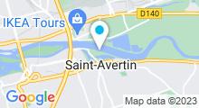 Plan Carte Piscine à St Avertin